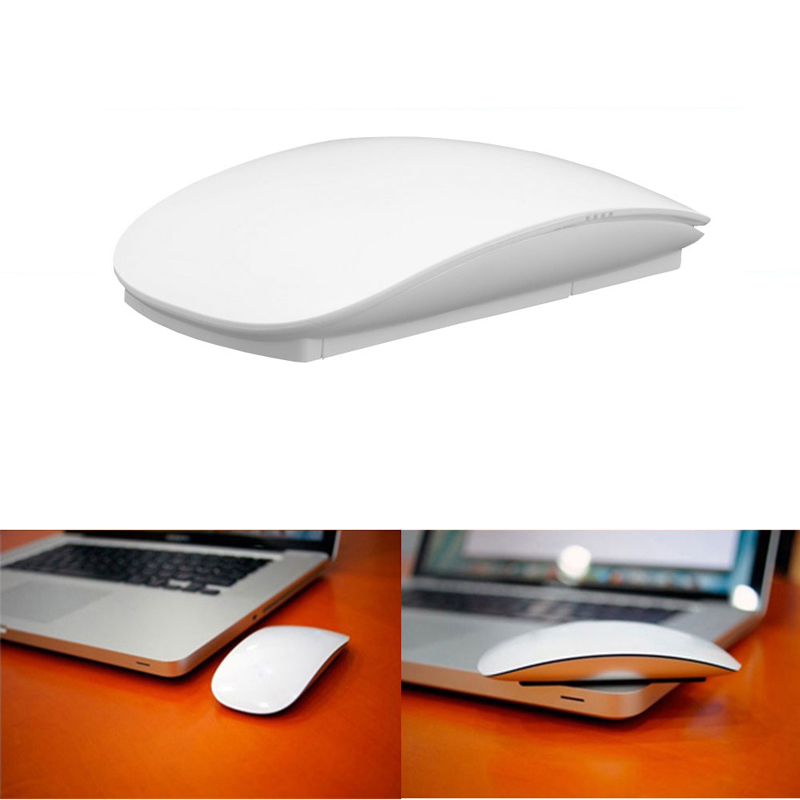 Kablosuz Optik Multi-touch Magic Mouse 2.4 GHz Fareler Için Windows Mac OS için Beyaz # H029 #